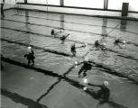 Swimming pool dedication